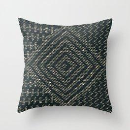 Black Assuit Throw Pillow