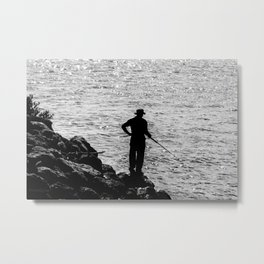 A FIsherman's Tale. Metal Print