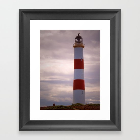 Tarbat Ness Lighthouse Framed Art Print