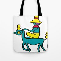 trip Tote Bags featuring Trip by MRTN