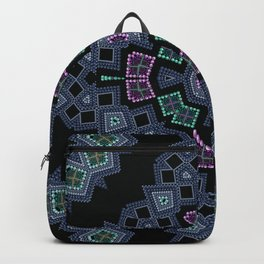 Embroidered beads pattern 1 Backpack