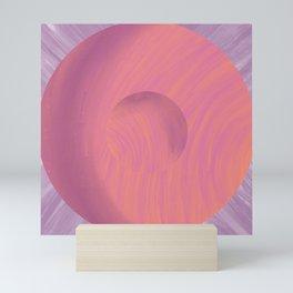 Sunset Circle Mini Art Print
