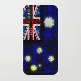 circuit board australia (flag) iPhone Case