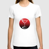 martini T-shirts featuring martini by daniel