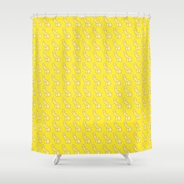 Banana Dicks! Yellow Penis, Male Anatomy Shower Curtain