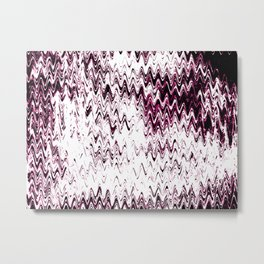 Silk Scream Metal Print
