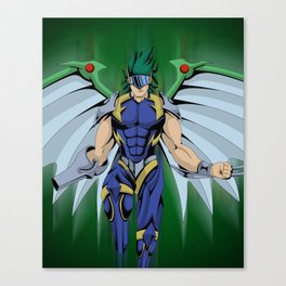 Elemental Hero Tempest Canvas Print