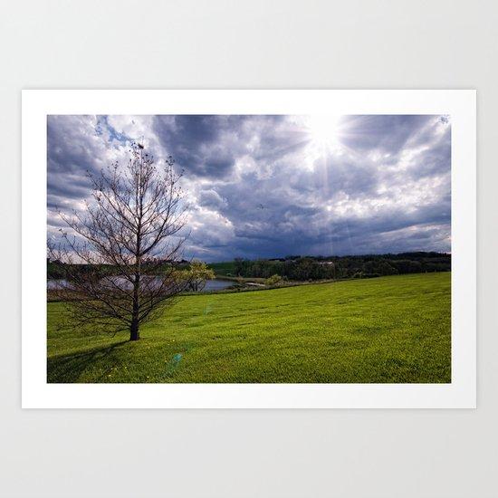 Under an Open Sky Art Print
