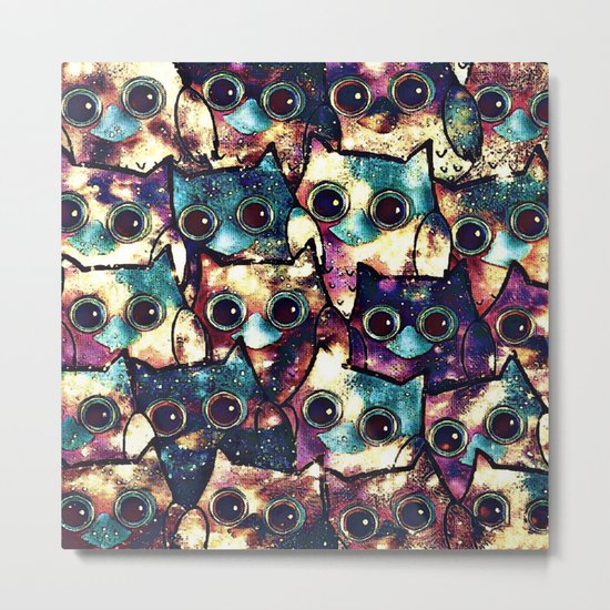 owl-152 Metal Print
