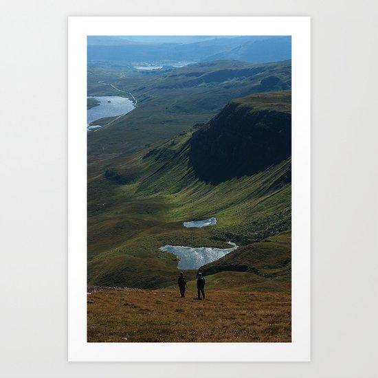 Trotternish Ridge Art Print