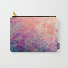 Coastal Sunset - Abstract Art by Vinn Wong Carry-All Pouch