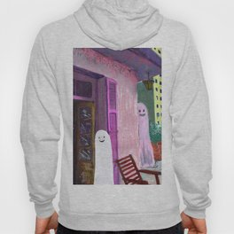 ghost house Hoody