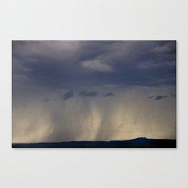 Storm Over The Mesa II Canvas Print