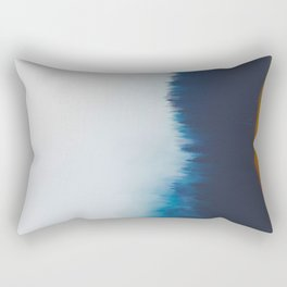 Misty Blue Pines Rectangular Pillow