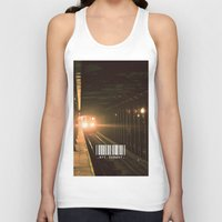 subway Tank Tops featuring NYC Subway by Tanner Dallas