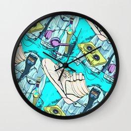 Rockin 80s Wall Clock