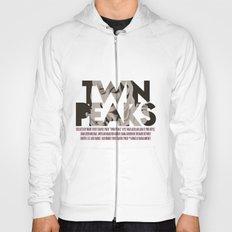 Twin Peaks Poster Hoody