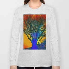 Colourful Tree Long Sleeve T-shirt