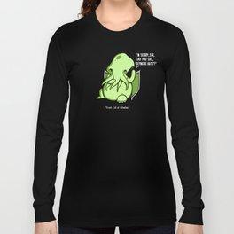 Prank Call of Cthulhu Long Sleeve T-shirt