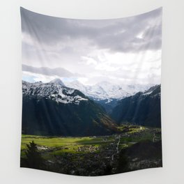 Paradise Mountains Wall Tapestry