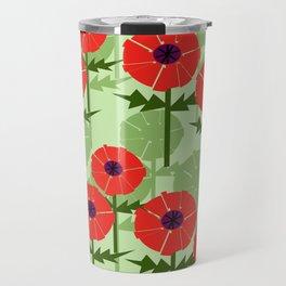 Poppies Contempo Travel Mug