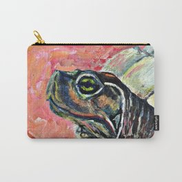 Abstract turtle painting Carry-All Pouch