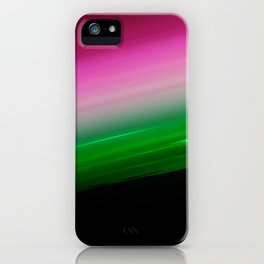 Pink Green Ombre iPhone Case