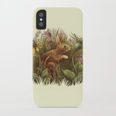 The Cottontail and the Katydid iPhone X Slim Case