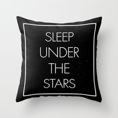 Sleep Under The Stars Throw Pillow