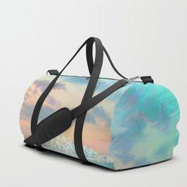 Frozen waves Duffle Bag