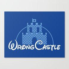 Wrong Castle Canvas Print