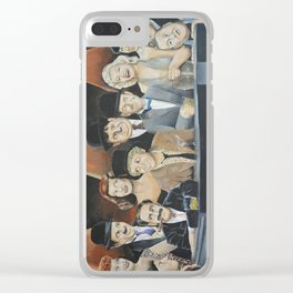 Classic Celebrities Clear iPhone Case