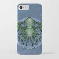 cthulhu iPhone & iPod Cases featuring Cthulhu by N.Kachaktano