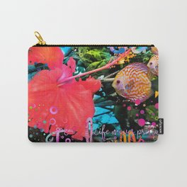 Tulm in Bloom Carry-All Pouch