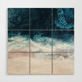 Blue Sea II Wood Wall Art