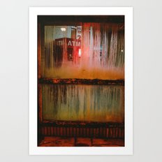 The Devil's Cash Machine Art Print