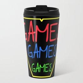 GAMES GAMES GAMES Travel Mug