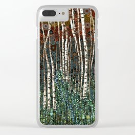:: Wild in the Woods :: Clear iPhone Case