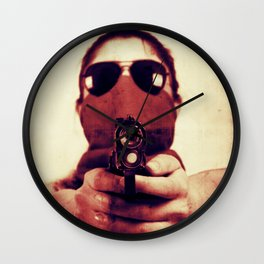 Wanted Wall Clock