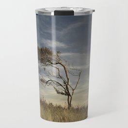 Dramatic Baltic Sea Sunset Travel Mug