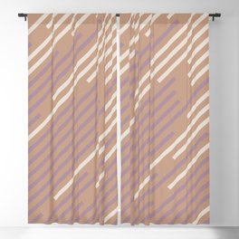 Sand Storm Beige Pastel Purple Pink Off White 2021 Color of The Year Canyon Dusk Accent Shades Blackout Curtain