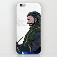 thorin iPhone & iPod Skins featuring Thorin by NON6