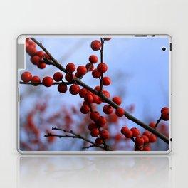 Red Winterberries Laptop & iPad Skin