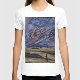 Old man on a lonely planet T-shirt