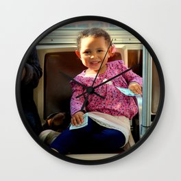 An Uphill Smile, Worth A Zillion Wall Clock