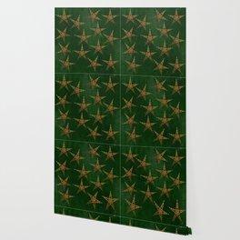 Hunter and Gold Celtic Wallpaper