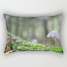 Macro World Rectangular Pillow
