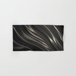 Black Steel Hand & Bath Towel