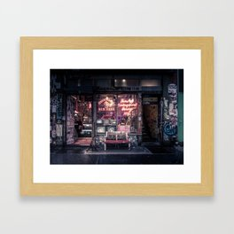 Underground Boxing Club NYC Framed Art Print
