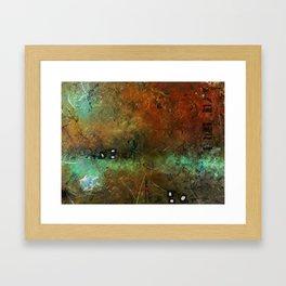Surface and Shape #1 Framed Art Print